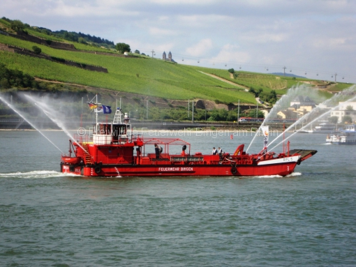 RPL5 bei einer Schiffstaufe